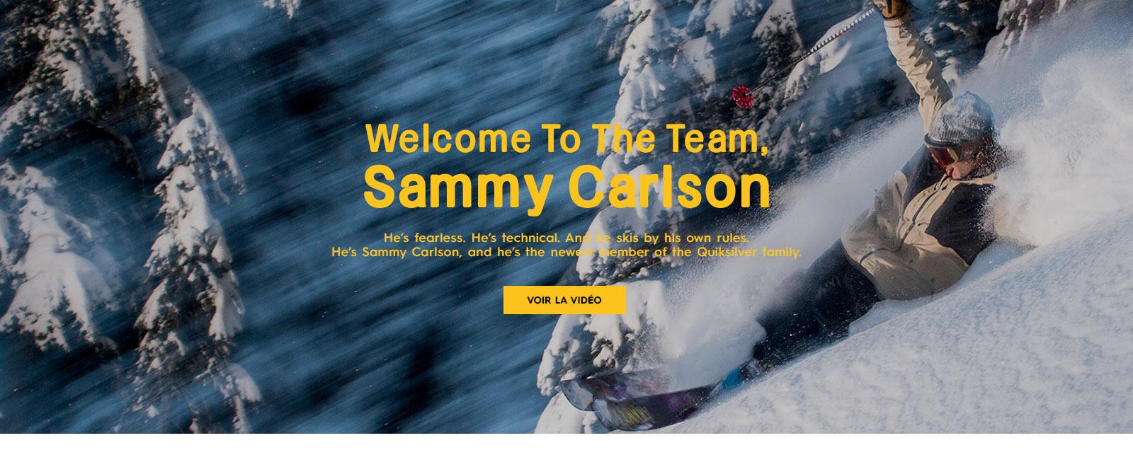 Carte Cadeau Quiksilver.Sammy Carlson Quiksilver