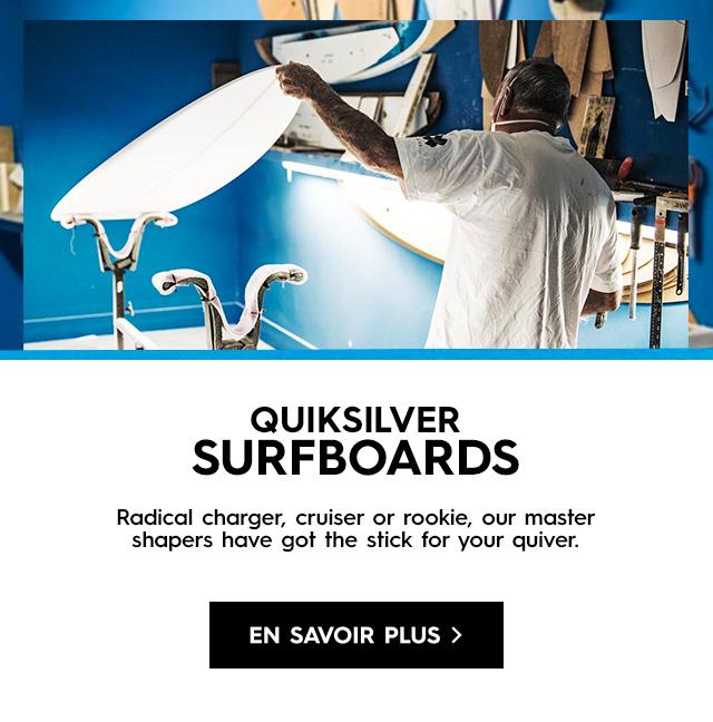 Carte Cadeau Quiksilver.Surfboards Quiksilver